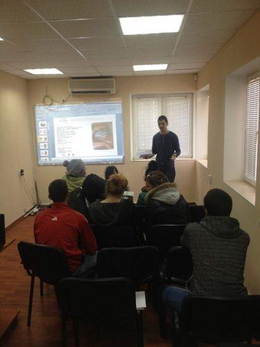 Presentation in Resource Center - Dobrich