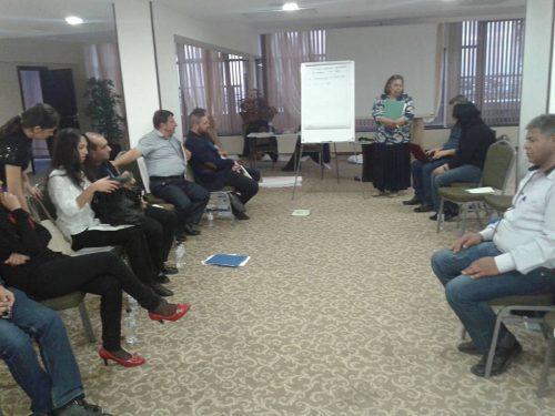 Third training for roma-mediators