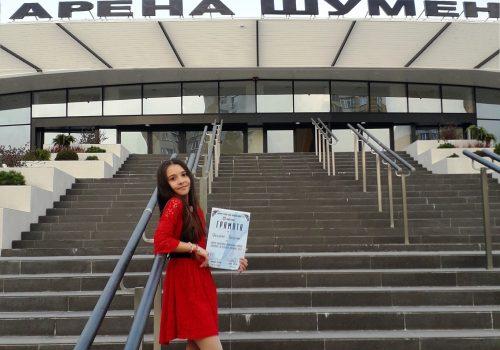 """Преслава Тодорова от Студио """"Сарандев"""" с награда от Националния конкурс """"Гласовете на детската мелодия"""""""