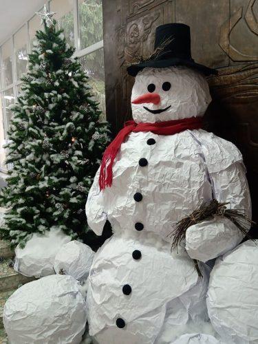 Снежно е!