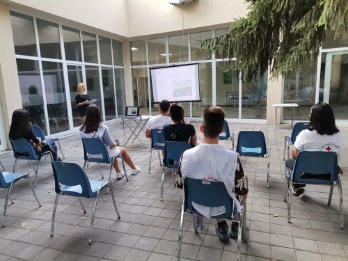 Информационна среща с доброволците от Българския младежки червен кръст