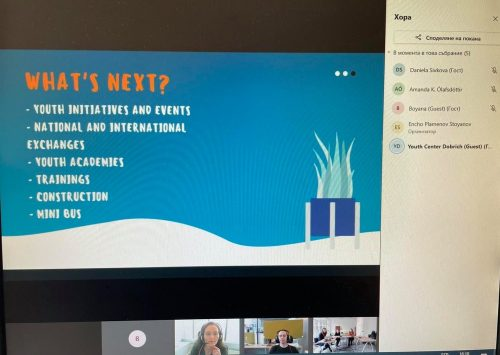 Работна среща онлайн с  Община Копавогур, Исландия