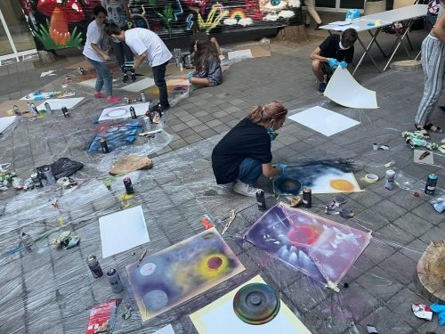 "Младежка инициатива ""Street art пленер"""